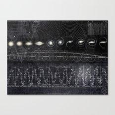 Black&White Diagram Canvas Print