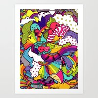 Party Party Time Art Print