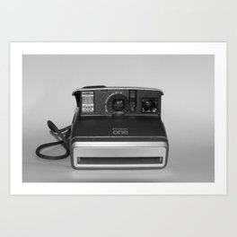 Polariod One Camera Art Print