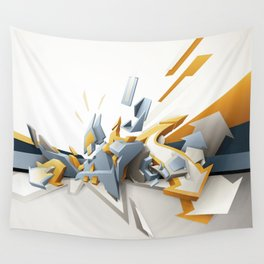All directions Wall Tapestry