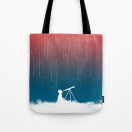 Meteor Rain (light version) Tote Bag