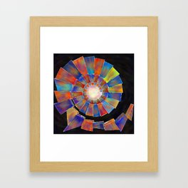 Volsopolis - forgotten future Framed Art Print