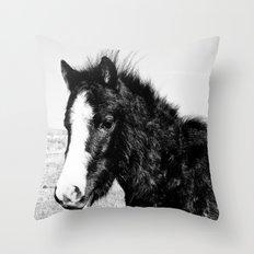 Mini Horse (2) Throw Pillow