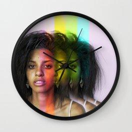 modern Spectrum Wall Clock