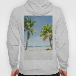 Palm trees, hammock Hoody