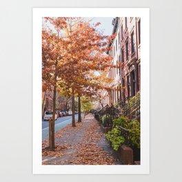 Autumn NYC Art Print