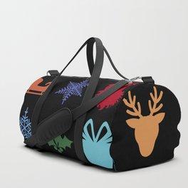 Christmas symbols Duffle Bag