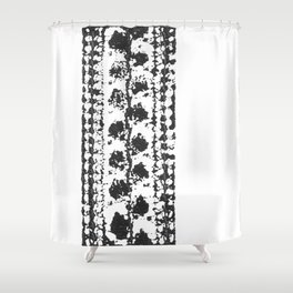 Crochet Impressions: LEAVES Shower Curtain