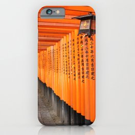 Fushimi Inari Shrine iPhone Case
