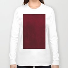 VELVET DESIGN - red, dark, burgundy Long Sleeve T-shirt