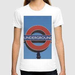 Undergound sign T-shirt