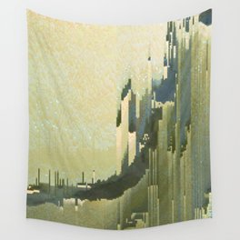 desert cliffs Wall Tapestry