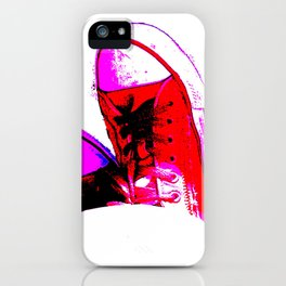 Red Trainers iPhone Case