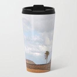Lanzarote Palm tree landscape Travel Mug