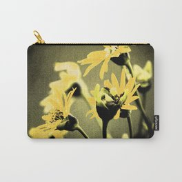 Darkly Lit Daisies Carry-All Pouch