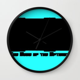 2013: The Year of the Optimist Wall Clock