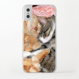 Nap Buddies Clear iPhone Case