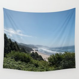 Californian Coastline Wall Tapestry