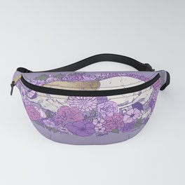 Amid The Flowers Fanny Pack