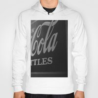 coca cola Hoodies featuring Coca-Cola by Colbie & Co.