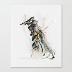 Drift Contemporary Dance Two Canvas Print
