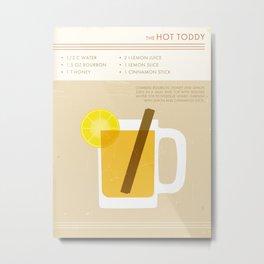 Hot Toddy Cocktail Print Metal Print