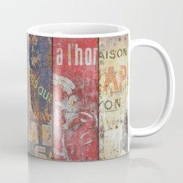 Vintage Posters Collection Coffee Mug