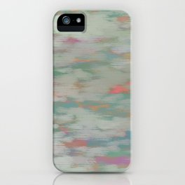 colorful pattern iPhone Case
