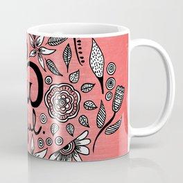 Be You Tiful- black peach Coffee Mug