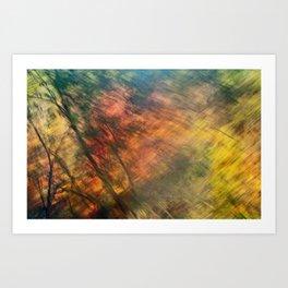 Fall on I-87 NY Art Print