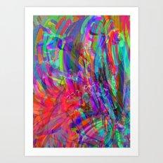 PSYCH Art Print