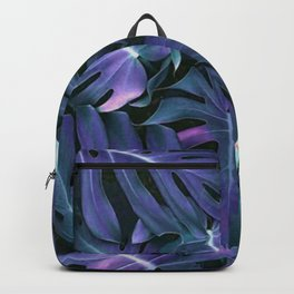 Monstera Blues Backpack