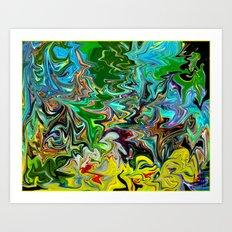 B-Dazzled Art Print