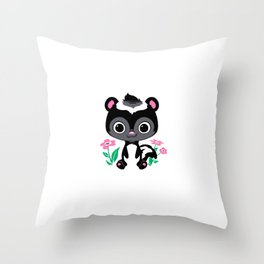 Lil' Stinker Throw Pillow