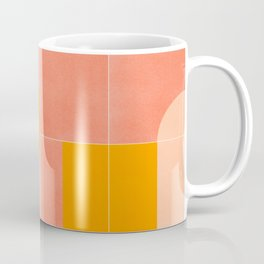Retro Tiles 03 #society6 #pattern Coffee Mug