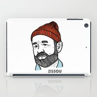 zissou iPad Cases featuring Zissou by Daniel Feldt