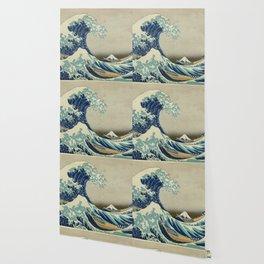 Great Wave Off Kanagawa (Kanagawa oki nami-ura or 神奈川沖浪裏) Wallpaper