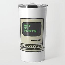 Computer Trash Talk Travel Mug