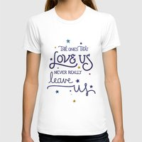 snape T-shirts featuring Never leave us by Earthlightened