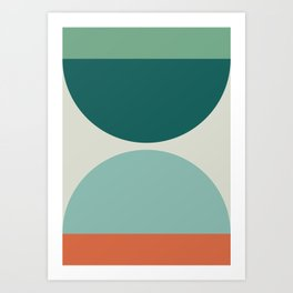 Abstract Geometric 20 Art Print