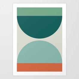 Abstract Geometric 20 Art Print