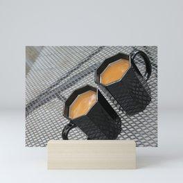 Two Coffees Mini Art Print