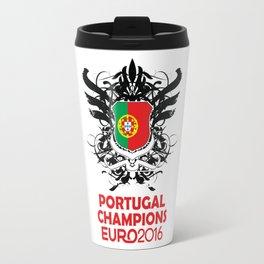 Portugal Champions Uefa Euro 2016 Travel Mug