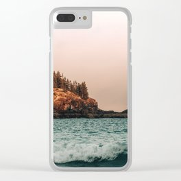 Shoreline Clear iPhone Case