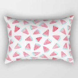 Watermelon watercolor pattern Rectangular Pillow