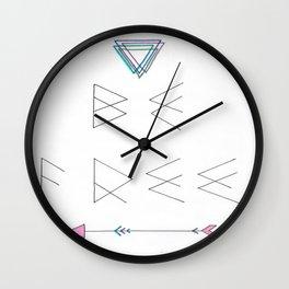 Be Free Wall Clock