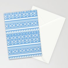 Christmas Jumper Blue Stationery Cards
