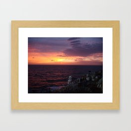 The Sun 2 Framed Art Print
