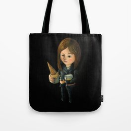 Hello Melted Coffee Ice Cream Tote Bag