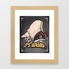 Brain Bug Framed Art Print
